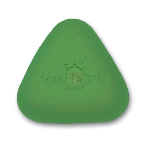 Radír háromszög alakú, PVC mentes, Faber-Castell
