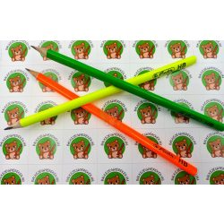 Grafitceruza vékony háromszögletű ceruzatest, HB-s, Herlitz