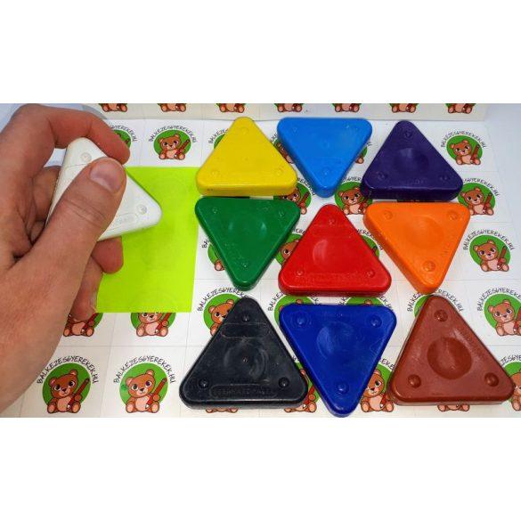 Háromszög alakú ergonóm írásfejlesztő zsírkréta, Eberhard Faber