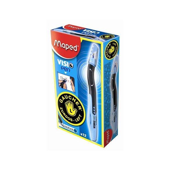 Balkezes toll, kék tintával, Visio Pen-Maped