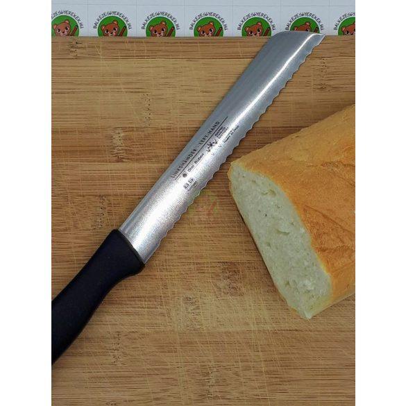 Balkezes kenyérvágó kés nagy: 33cm hosszú kés, a penge: 20cm-es, Solingen