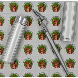 Yoropen exklúzív kivitelű fémházas toll jobb-és balkezesek számára kék színű tintával