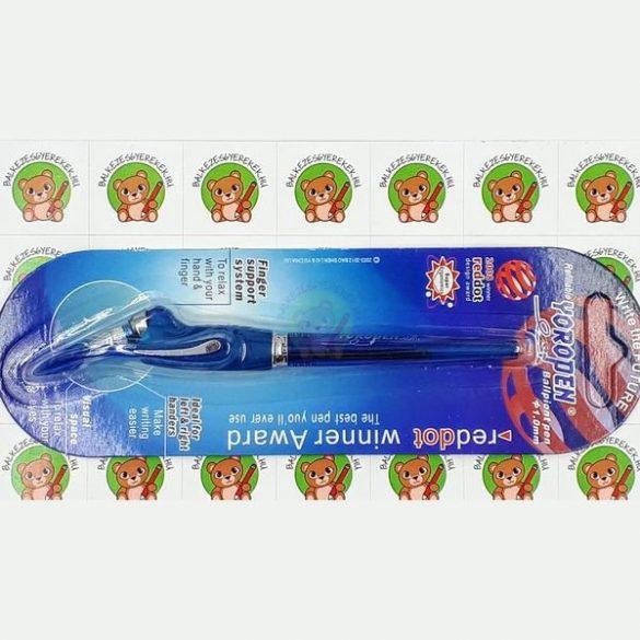 Yoropen EX superior toll kék tintával, kék színű tolltesttel, jobb-és balkezesek számára