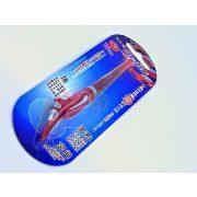 Yoropen EX superior toll kék tintával, piros színű tolltesttel, jobb-és balkezesek számára