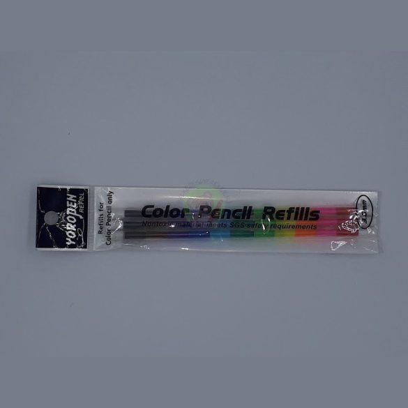 Yoropen színes ceruza utántöltő hegy 3-as csomag